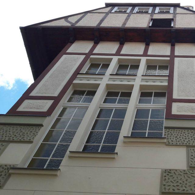 Kreuzingerova lidov knihovna 1911 library secese artnouveau jugendstill
