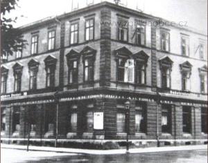 Hotel Viktoria na poč. 30.let (zdroj:zanikleobce.cz)